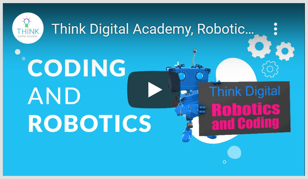 Watch a video about our Coding and Robotics course