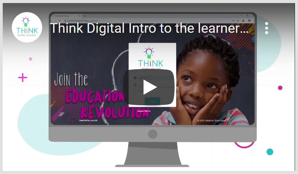 Watch a video introduction about our online learning platform