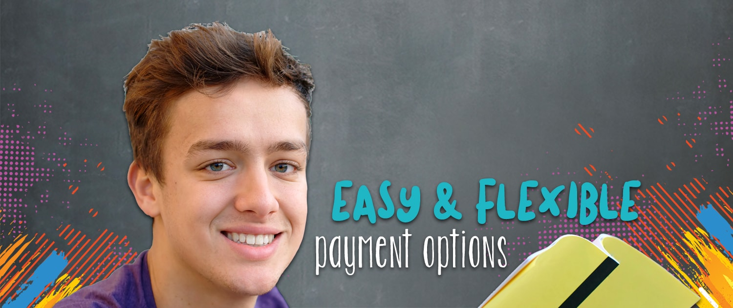 Easy payment options, Think Digital Academy