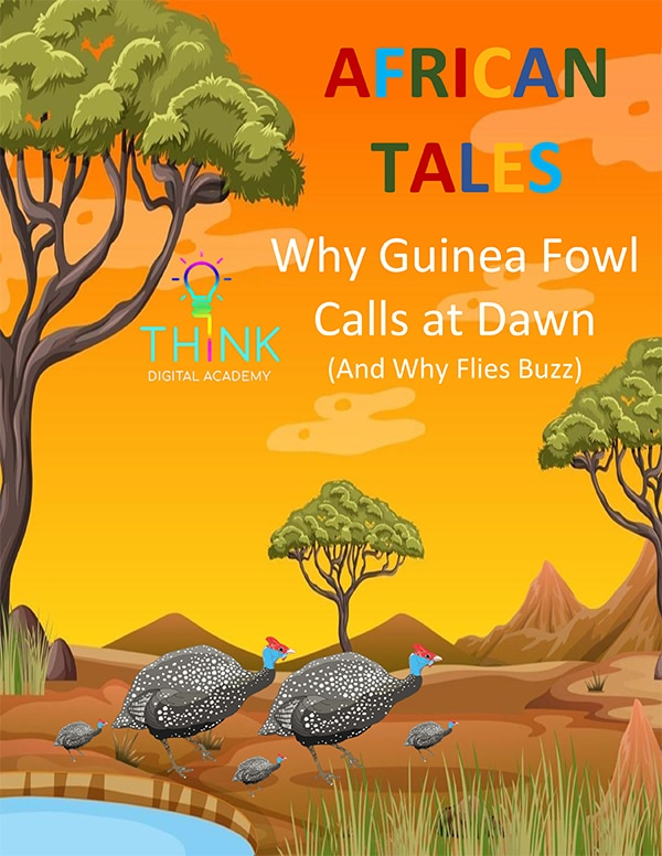 African tale - Why Guinea Fowl Calls at Dawn